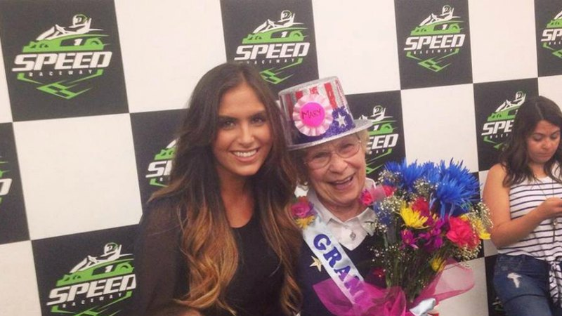 Lady with granny | Group & Private Party at Speed Raceway's