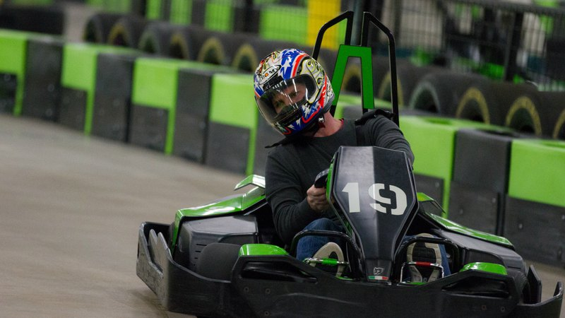 The Largest Electric Go Kart Track Located In Horsham Pa