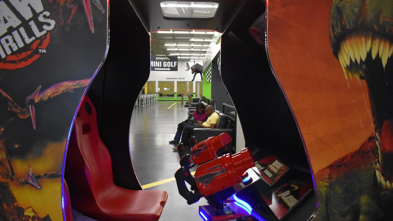 Jurassic Park Arcade Game | Family Fun Center