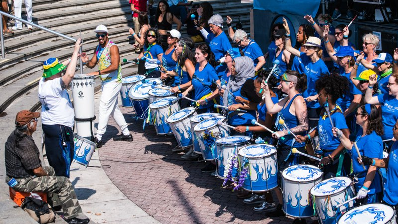 Brazilian musicians perform in Philadelphia, PA